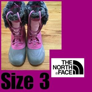 Sz 3 North Face Snow Boots
